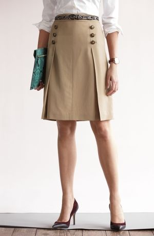 Halogen Blouse and Pleated Skirt by nita