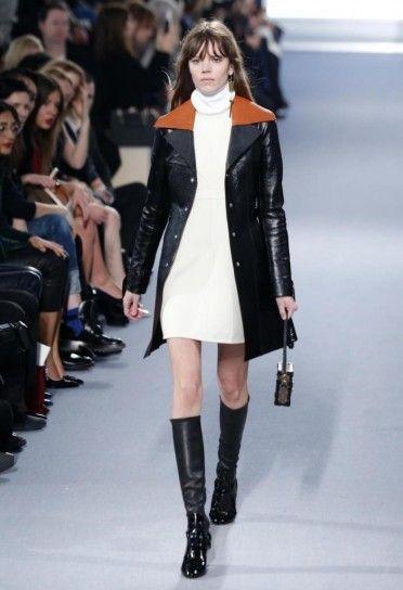 Cappottino di pelle Louis Vuitton