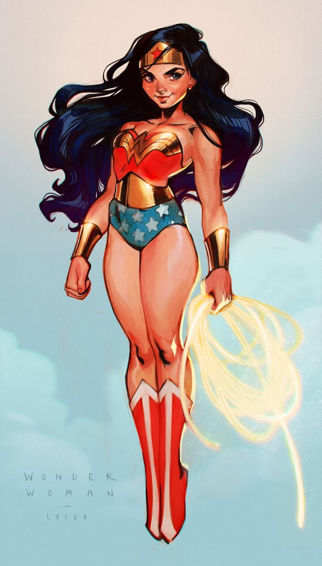 Wonder Woman by Loish - http://loish.net