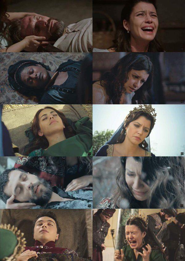 Vignel reacting the deaths of her: teacher, wetnurse, handmaiden, husband and son