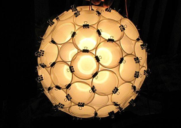 luminaria-copos-descartáveis