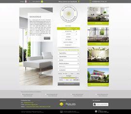 Découvrez la maquette du site BC Immo, agence dans le Var