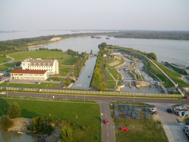 Olympic water sports resort in Čunovo, near Bratislava - one of the best artificial channels in the world