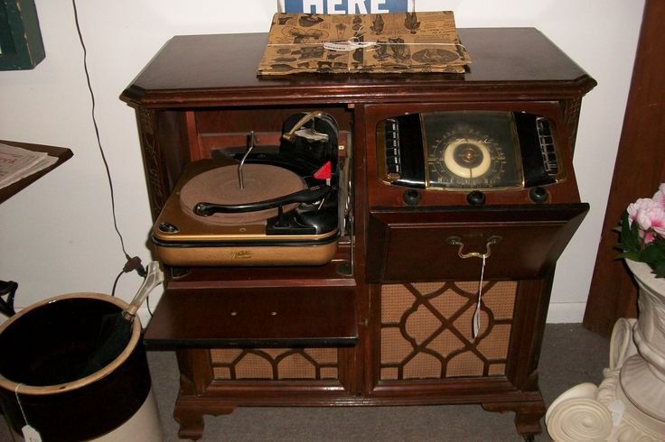 Zenith Antique Record Player Antique New Items At