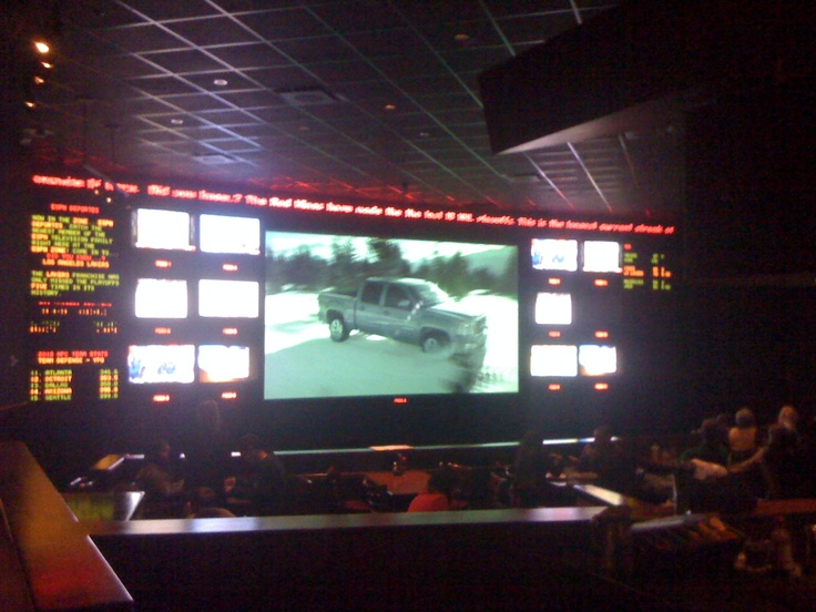 Heaven!!!  Look at all of those tv's that are full of sports games at the ESPN zone at Downtown Disney in California