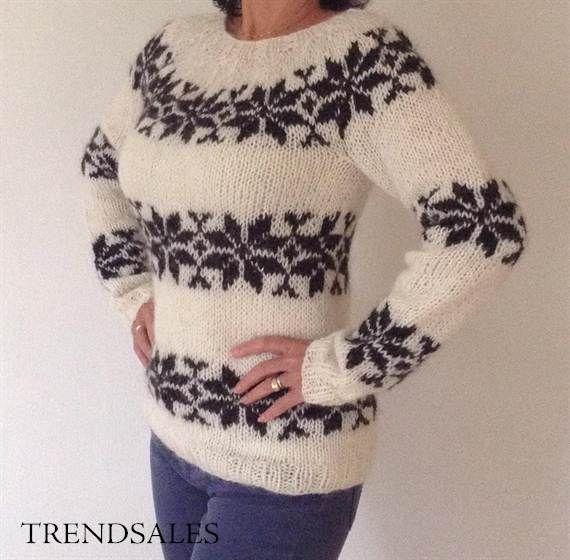 Sarah Lund sweater - FORBRYDELSEN- THE KILLING - KOMMISSARIN LUND - handknit in your size, order at www.frustrik.dk