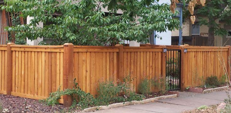 cedar fence designs click here to get a free estimate. Black Bedroom Furniture Sets. Home Design Ideas