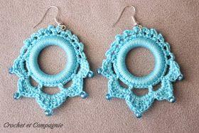 Crochet et compagnie: BO au crochet: grille et tuto