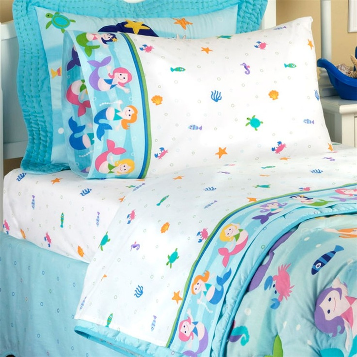 Bedding Under The Sea Girl 39 S Bedroom Pinterest Olives Mermaids And Kid
