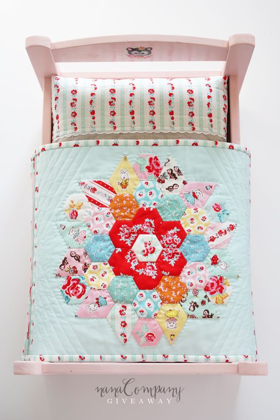 doll quilt giveaway!