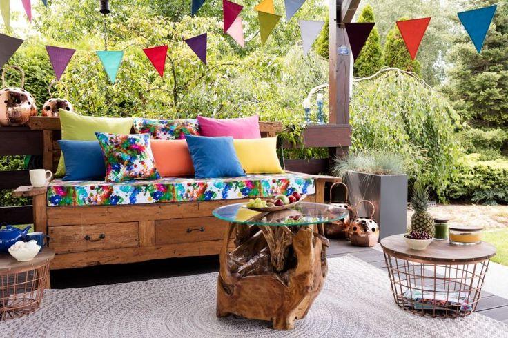 Summer balcony  #dekoriapl #summer #balcony #inspiration #decoration #diy #colorful #garden #interior #homedecor #decorations