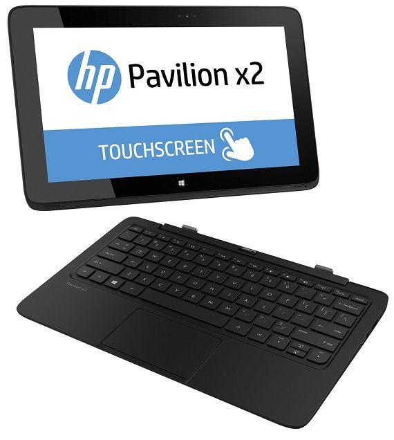 HP Pavilion x2, tablet + notebook, 11.6' 1366 x 768 pixels