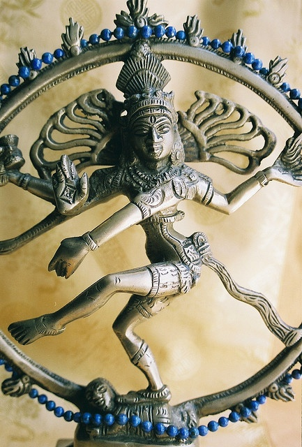Dancing Lord Shiva with lapis #TRANSFORMATION