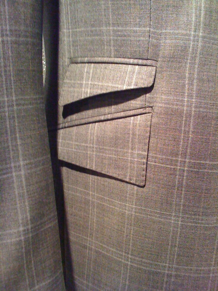 Hussein Chalayan mens jacket detail . 2009 design museum exhibition