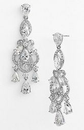 Nadri 'Legacy' Crystal Chandelier Earrings