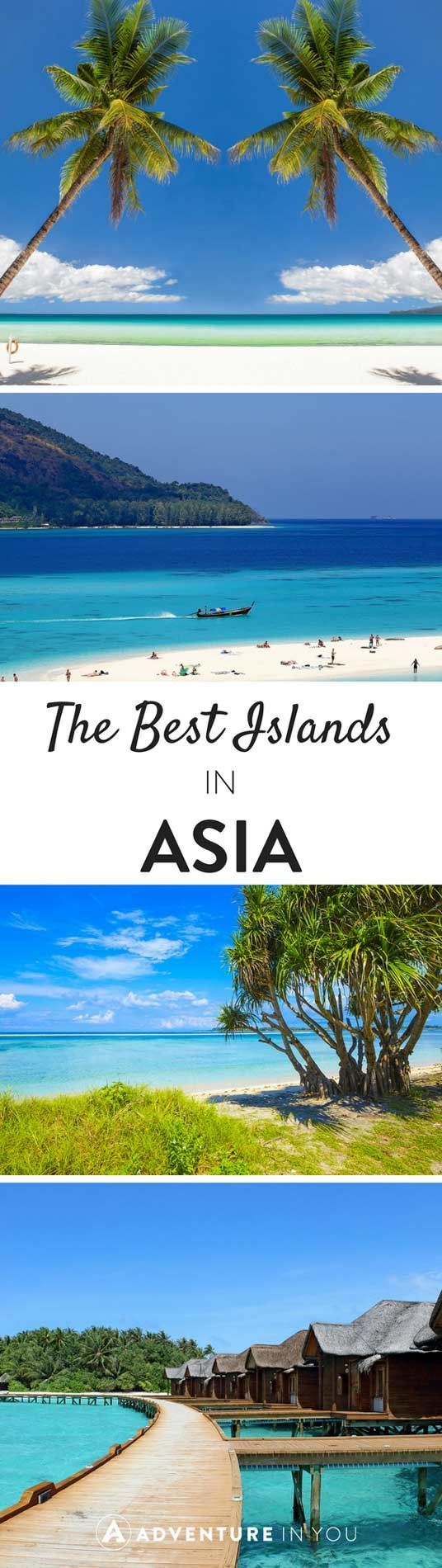 Beaches in Asia | Our top picks for some of the best islands and beaches in Southeast Asia. From stunning white sand and clear waters, these photos are enough to make you pack your bags and go.