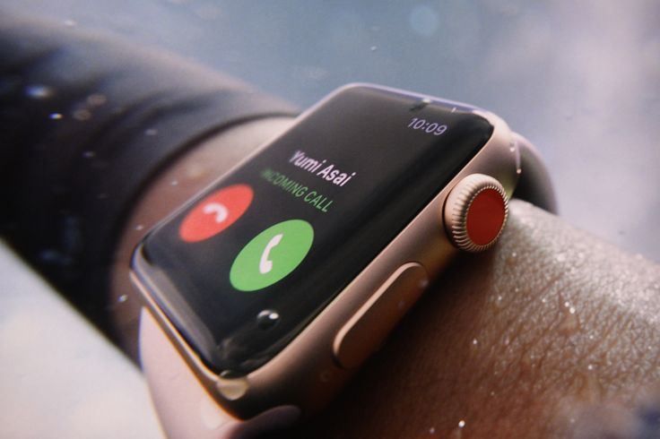 The Apple Watch Series 3 comes with LTE connectivity