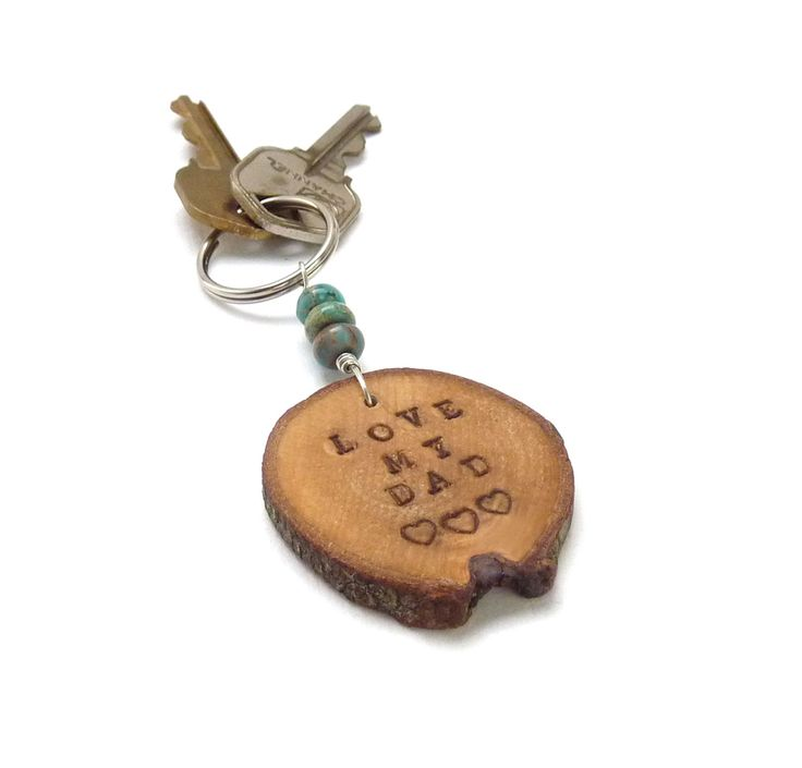 Handmade Keyring for Fathers Day