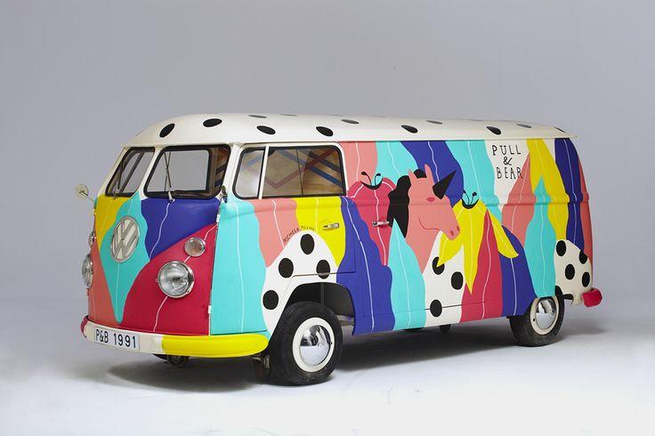 Pop surrealisme ambulant dans les rues de paris - Michela Picci