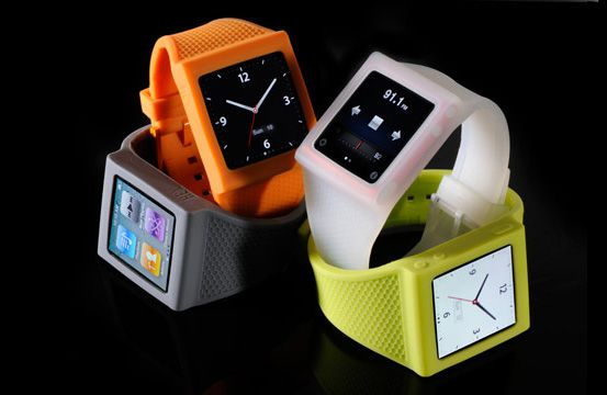 iPod nano Watch Band. I love my white one, now to get one in every color