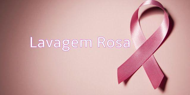 A Fachada da Consciência do Câncer Outubro Rosa