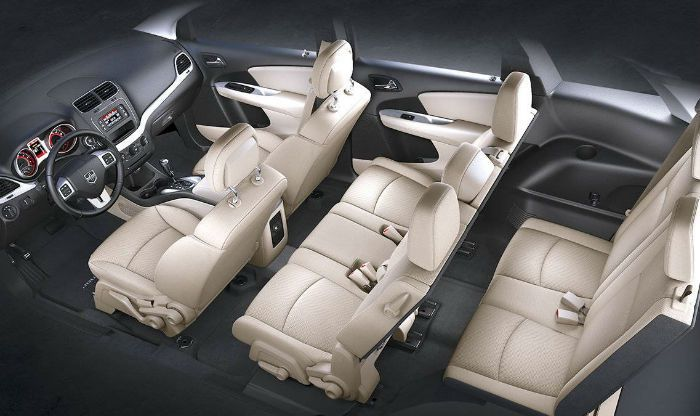 2017 Dodge Journey Seating Capacity 7