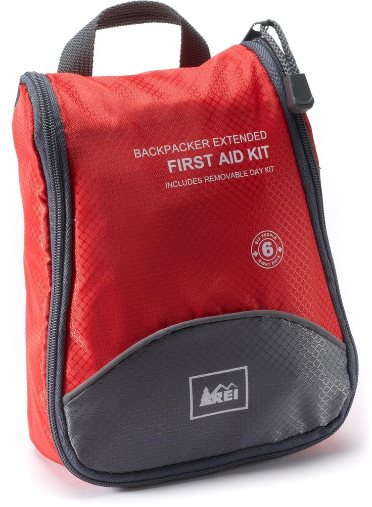 This kit provides essential medical supplies for up to 6 people on 8-day trips into the backcountry.