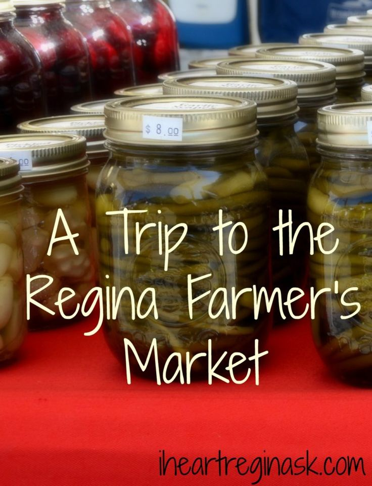 A Trip to the Regina Farmer's Market
