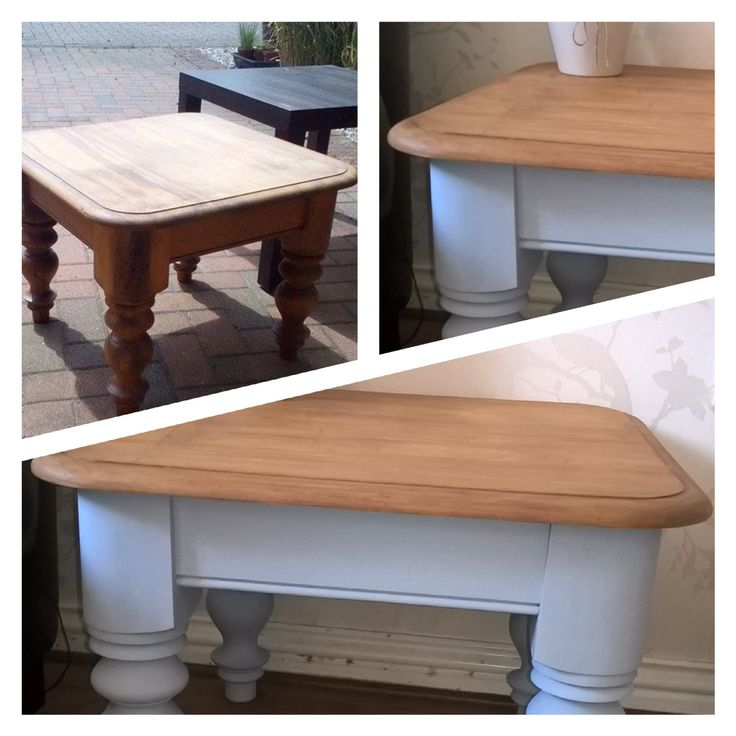 A new lease of life to this little table!!