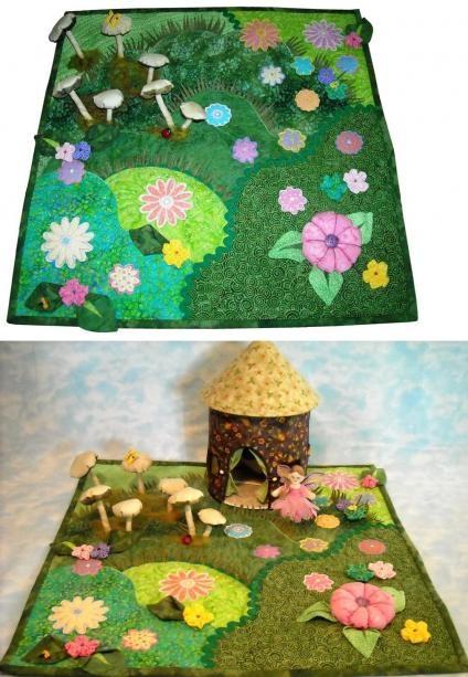 The Fairy Garden Playmat…