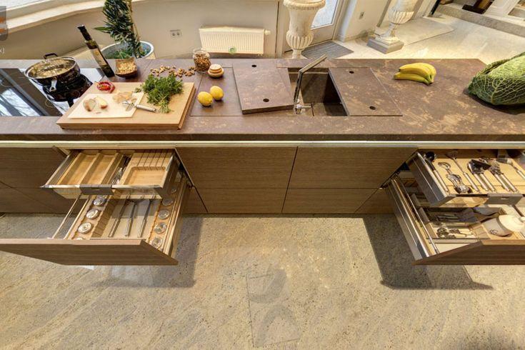 Drewniane meble kuchenne - HomeSquare organize organise organizery kuchnia kitchen wood wooden idea