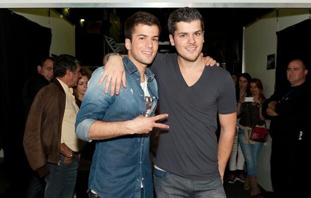 Mickael Carreira and David Carreira