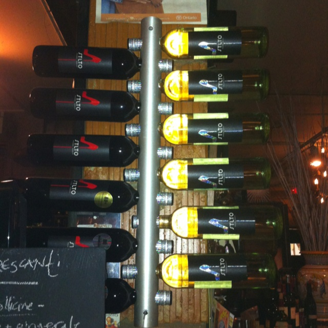 Stiletto Wine Tower! Very cool. Thx for sending this to us @grano