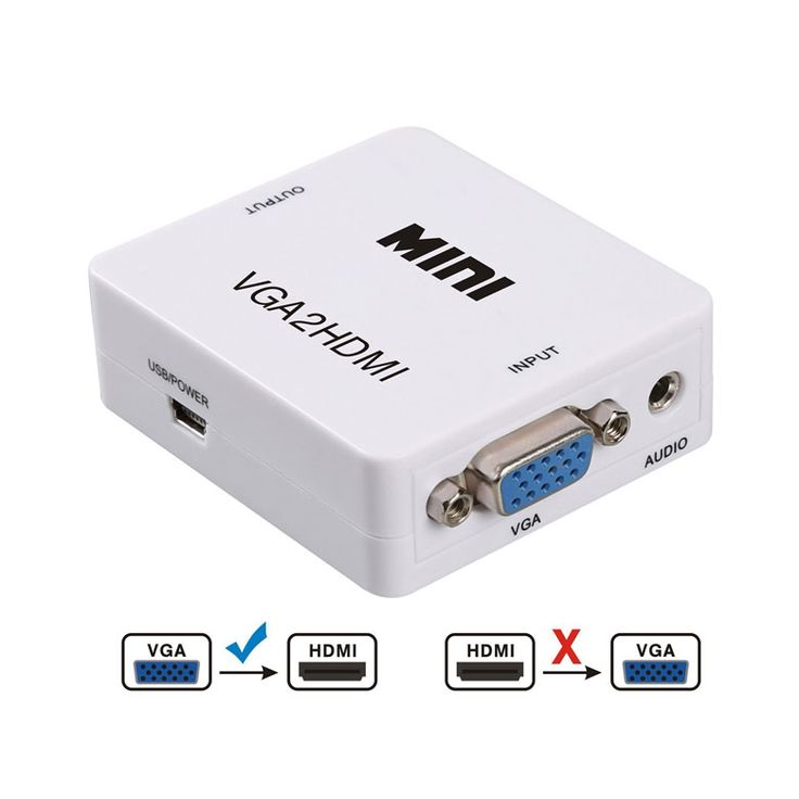From VGA to HDMI Converter
