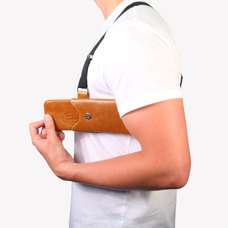 The Original LD West® Holster (T-FIT) - Cognac