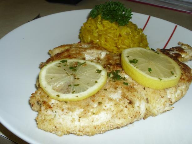 Veal Scaloppine With Lemon Recipe — Dishmaps