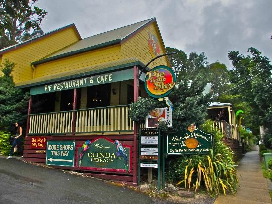 Pie in the Sky restaurant on Mt. Dandenong in Victoria, Australia.