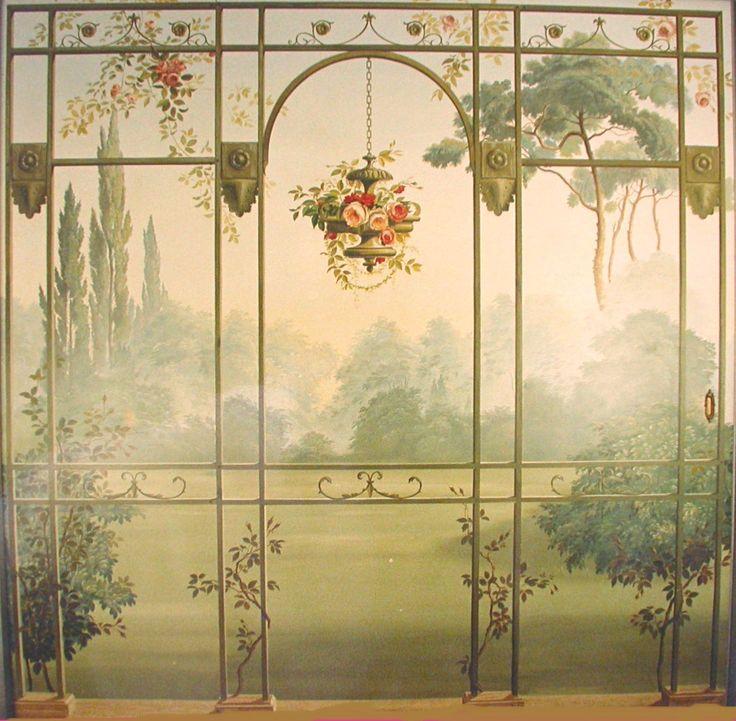 decoration on sliding door