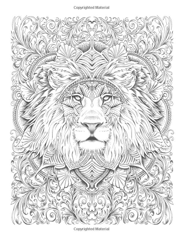 833 best coloring pages images on Pinterest Coloring books - fresh coloring pages lion head