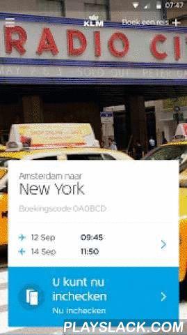 KLM - Royal Dutch Airlines  Android App - playslack.com ,  De nieuwe, sterk verbeterde KLM app helpt u om uw reis nog beter te plannen – waar en wanneer u maar wilt. Dankzij functies als one-tap check-in, supermakkelijk uw stoel wijzigen en handige bestemmingsinformatie is uw reis altijd perfect georganiseerd. FLYING BLUE MILES BEKIJKEN: Bekijk en beheer in een handomdraai uw Flying Blue-account, Miles en voordelen.INCHECKEN VOOR VLUCHTEN: Vliegensvlug inchecken en altijd uw instapkaart bij…