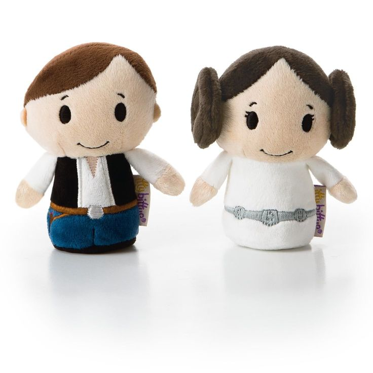 itty bittys® HAN SOLO™ and PRINCESS LEIA™ Stuffed Animals.  You'll love them; I know.  $14.95