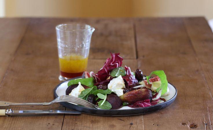 Fig, Basil and Labne Salad - Maggie Beer