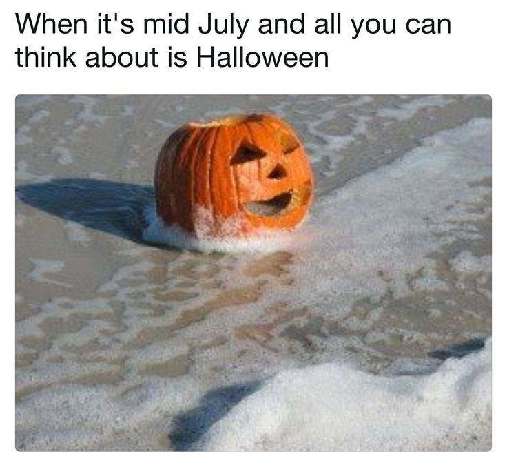When it's mid of July and all you can think about is Halloween.