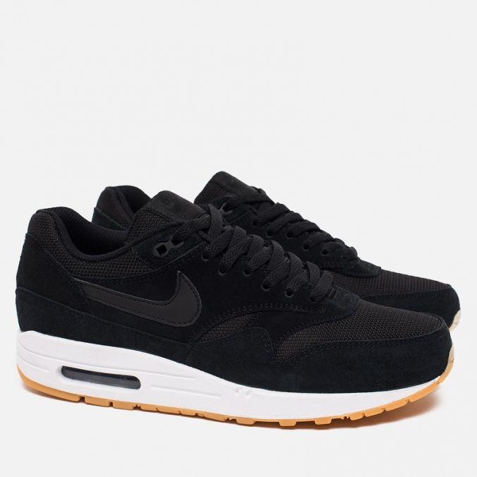 Мужские кроссовки Nike Air Max 1 Essential Black/White/Gum фото- 1