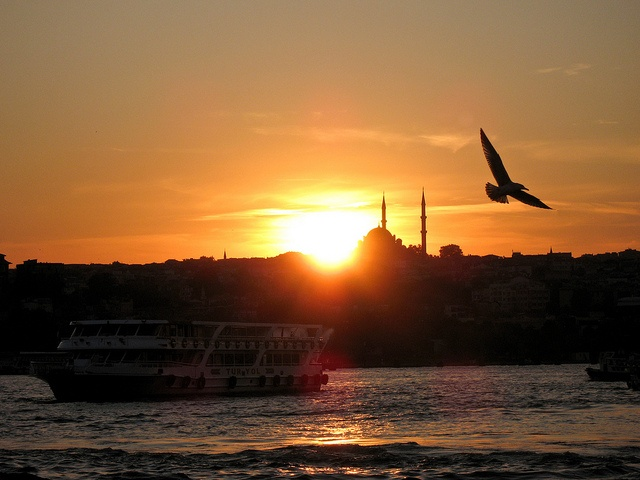 At the Golden Horn in Istanbul., via Flickr.