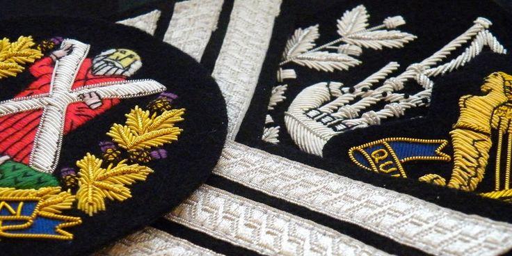 Scottish bespoke regimental military highlanders insignia and badges 3