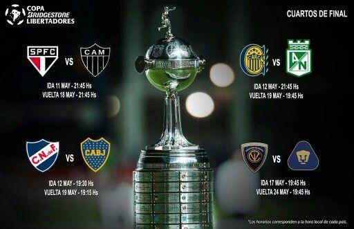Copa Libertadores 2016 Cuartos de final queda nadamas, Los Pumas de Mexico