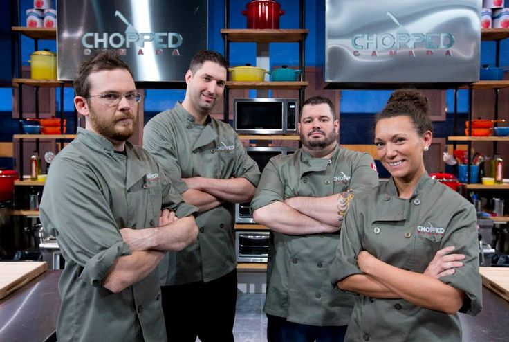 Our chefs strike a playful pose moments before the competition begins.