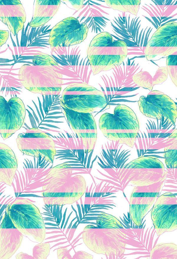 Paradise Pastels on Behance