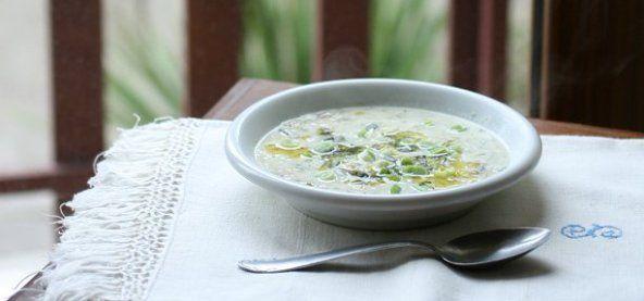 zuppa di yogurt persiana